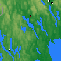 Nearby Forecast Locations - Arvika - Carta