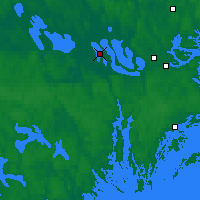 Nearby Forecast Locations - Adelsö - Carta