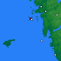 Nearby Forecast Locations - Vinga Lighthouse - Carta