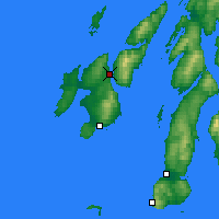 Nearby Forecast Locations - Port Askaig - Carta