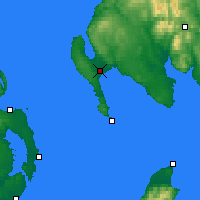 Nearby Forecast Locations - Stranraer - Carta
