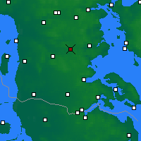 Nearby Forecast Locations - Vojens - Carta