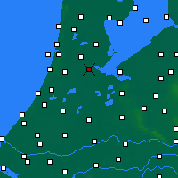 Nearby Forecast Locations - Amsterdam - Carta