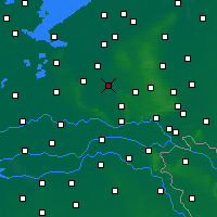 Nearby Forecast Locations - Barneveld - Carta