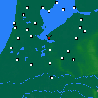 Nearby Forecast Locations - Almere - Carta