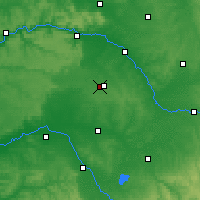 Nearby Forecast Locations - Châlons-en-Champagne - Carta