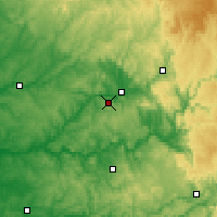 Nearby Forecast Locations - Grèzes - Carta