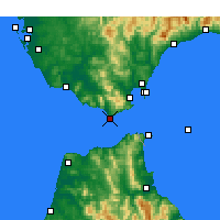 Nearby Forecast Locations - Tarifa - Carta