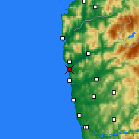 Nearby Forecast Locations - Viana do Castelo - Carta