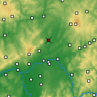Nearby Forecast Locations - Friedberg - Carta