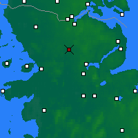 Nearby Forecast Locations - Eggebek - Carta