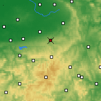 Nearby Forecast Locations - Büren - Carta