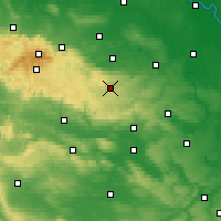 Nearby Forecast Locations - Harzgerode - Carta