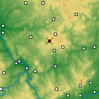 Nearby Forecast Locations - Westerwald - Carta