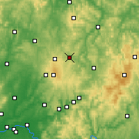 Nearby Forecast Locations - Lauterbach - Carta
