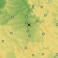Nearby Forecast Locations - Norimberga - Carta