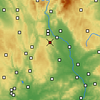 Nearby Forecast Locations - Luká - Carta