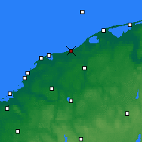 Nearby Forecast Locations - Ustka - Carta