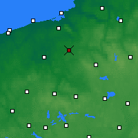 Nearby Forecast Locations - Zegrze Pomorskie - Carta