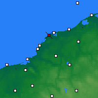 Nearby Forecast Locations - Jarosławiec - Carta