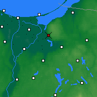 Nearby Forecast Locations - Elbląg - Carta