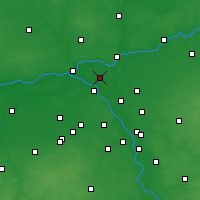 Nearby Forecast Locations - Legionowo - Carta