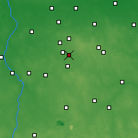 Nearby Forecast Locations - Łódź - Carta