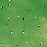 Nearby Forecast Locations - Sulejów - Carta