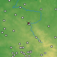 Nearby Forecast Locations - Częstochowa - Carta