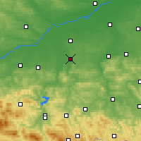 Nearby Forecast Locations - Tarnów - Carta