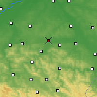 Nearby Forecast Locations - Rzeszów - Carta