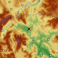 Nearby Forecast Locations - Skopje - Carta