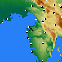 Nearby Forecast Locations - Portorose - Carta