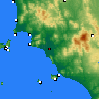 Nearby Forecast Locations - Grosseto - Carta