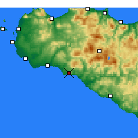Nearby Forecast Locations - Sciacca - Carta