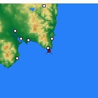 Nearby Forecast Locations - Capo Carbonara - Carta