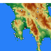 Nearby Forecast Locations - Calamata - Carta