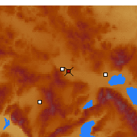 Nearby Forecast Locations - Afyonkarahisar - Carta