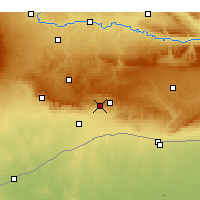 Nearby Forecast Locations - Mardin - Carta