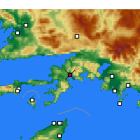 Nearby Forecast Locations - Marmaris - Carta