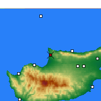 Nearby Forecast Locations - Akdeniz - Carta