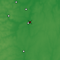 Nearby Forecast Locations - Rjažsk - Carta