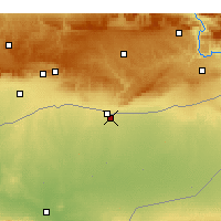 Nearby Forecast Locations - Kamishlié - Carta