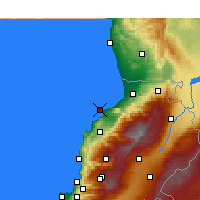 Nearby Forecast Locations - Tripoli - Carta