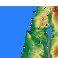 Nearby Forecast Locations - Haifa - Carta