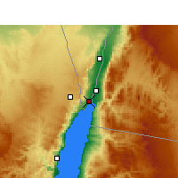 Nearby Forecast Locations - Eilat - Carta