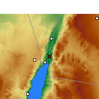 Nearby Forecast Locations - Aqaba - Carta