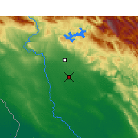 Nearby Forecast Locations - Safi-Abad Dez. - Carta