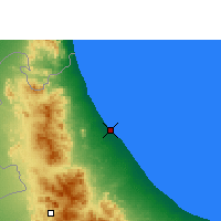 Nearby Forecast Locations - Sohar - Carta