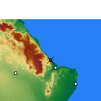 Nearby Forecast Locations - Qalhat - Carta